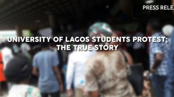 Press Release of The Press Club, UNILAG on the UNILAG Protest