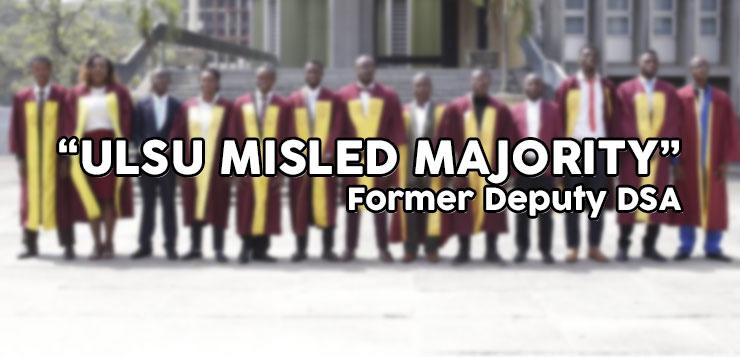 """""""ULSU Misled Majority"""" Former Deputy DSA"""