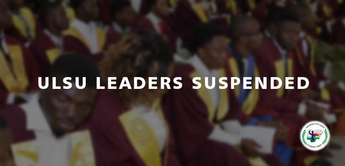 ULSU Leaders Suspended
