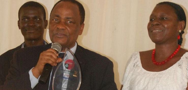 Prof. Akinfeleye,Otufodunrin,othershonoured at the 5th Ngozi Agbo Media Lecture