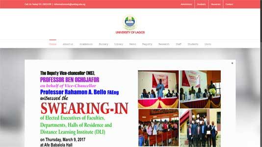 New UNILAG Website