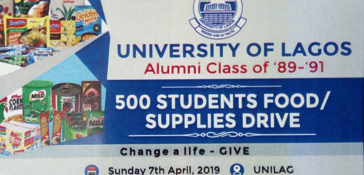 UNILAG ALUMNI LAUNCHES WELFARE SCHEME FOR INDIGENT STUDENTS