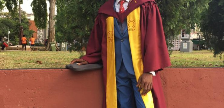 Campus Life man wins Prize for Best Student in Journalism
