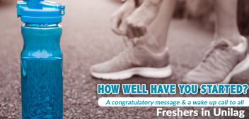 How well have you started?